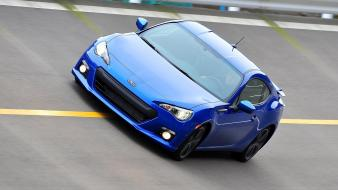 Cars blue subaru brz Wallpaper