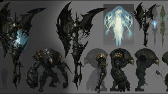Concept art lineage 2 tauti goddess of destruction wallpaper