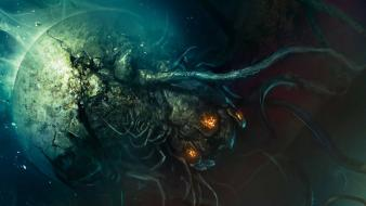Dead space concept art wallpaper
