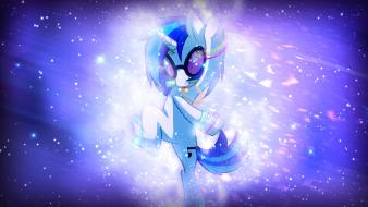 Dj pon-3 galaxy pony: friendship is magic wallpaper