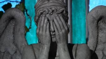 Doctor who weeping angel wallpaper