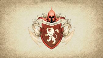 Fire sigil house lannister hear me roar wallpaper