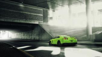 Green envy nissan gtr wallpaper