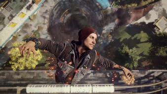 Infamous playstation 4 second son delsin rowe wallpaper
