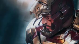 Iron man tony stark artwork 3 Wallpaper
