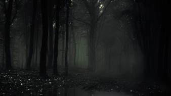 Man slenderman the arrival forest eight pages wallpaper