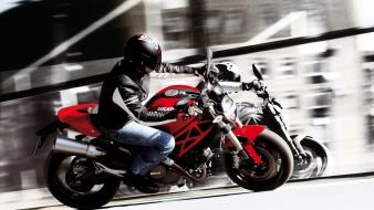 Men ducati motorbikes monster 696 wallpaper