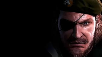 Metal gear solid peace walker big boss wallpaper