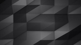 Minimalistic gray triangles wallpaper