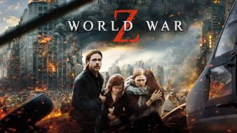 Movies brad pitt world war z horror Wallpaper