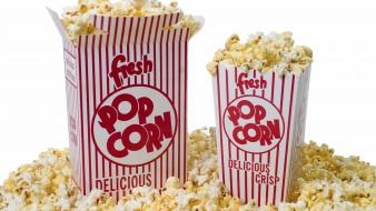Movies fluffy popcorn boxes cinema theater movie time wallpaper