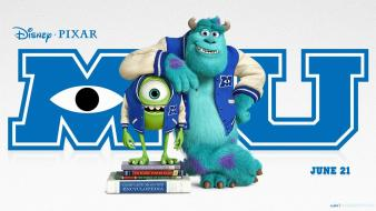 Movies mike wazowski sulley monsters university wallpaper