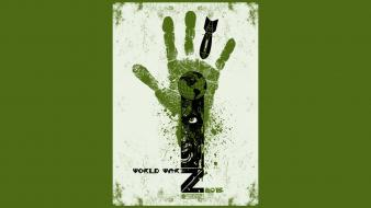 Movies zombies brad pitt world war z wallpaper