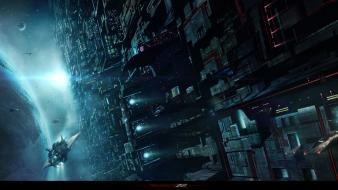 Outer space deviantart science fiction Wallpaper