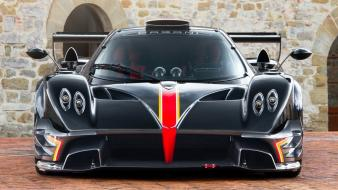 Pagani zonda revolution front wallpaper