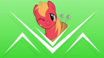 Ponies big macintosh pony: friendship is magic wallpaper