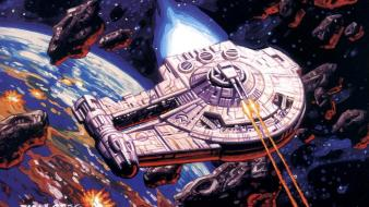 Shadows of the empire greg hildebrandt outrider wallpaper