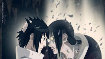 Shippuden itachi glowing eyes brothers edo tensei wallpaper