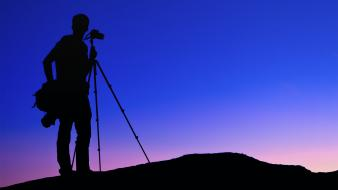 Silhouette cameras arizona photographers tripod equipment wallpaper