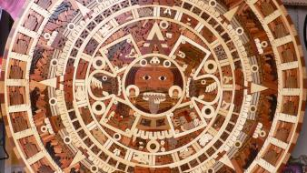 Sun aztec civilization calendar Wallpaper
