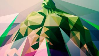 Superheroes geometry artwork marvel comics liam brazier wallpaper