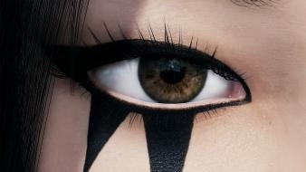 Tattoos video games eyes mirrors edge 2 wallpaper