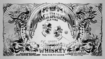 Tennessee liquor whisky jack daniels bourbon label wallpaper