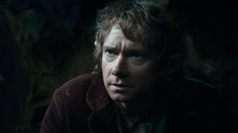 The hobbit martin freeman bilbo baggins movie stills wallpaper
