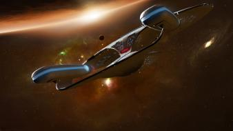 Trek the next generation enterprise d ncc-1701-d Wallpaper
