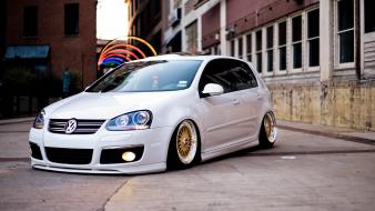 Tuning stance volkwagen golf wallpaper