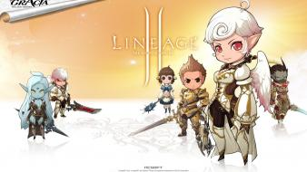Video games artwork lineage 2 wallpaper