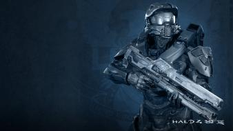 Video games guns suit master chief halo 4 wallpaper