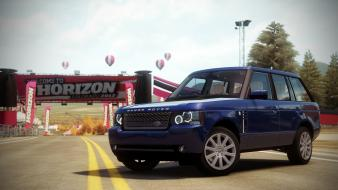 Video games land rover range supercharged forza horizon wallpaper