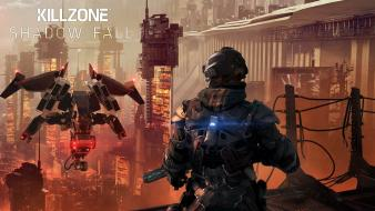 Video games playstation 4 killzone shadow fall wallpaper