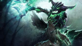Video games valve corporation dota 2 outworld destroyer wallpaper