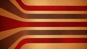 Vintage graphic art stripes red stripe wallpaper