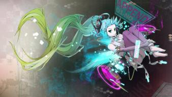 Vocaloid hatsune miku append wallpaper