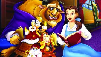Walt disney beauty and the beast belle (disney) wallpaper