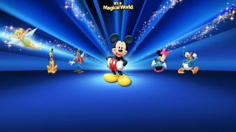 Walt disney mickey mouse donald duck minnie wallpaper