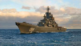 Warships marine peter the great battlecruisers battlecruiser wallpaper