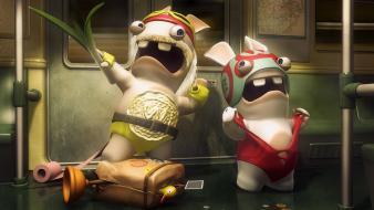 Wwe world entertainment raving rabbids hulk hogan wallpaper