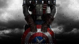 America chris evans america: the first avenger Wallpaper
