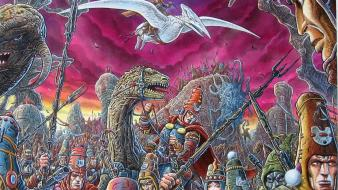 Army creatures artwork traditional art fan moebius wallpaper