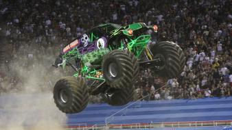 Cars monster truck grave digger jam wallpaper