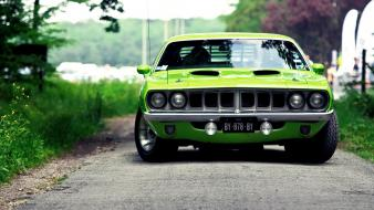 Cars plymouth vehicles barracuda 1970 muscle car wallpaper
