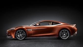 Cars side view aston martin vanquish wallpaper