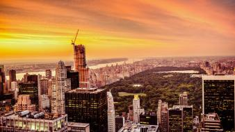 Cityscapes new york city central park wallpaper