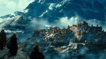 Fictional citys the hobbit: desolation of smaug wallpaper