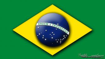 Flags brazil countries fifa world cup emblems 2014 Wallpaper