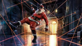 Humor funny santa claus wallpaper